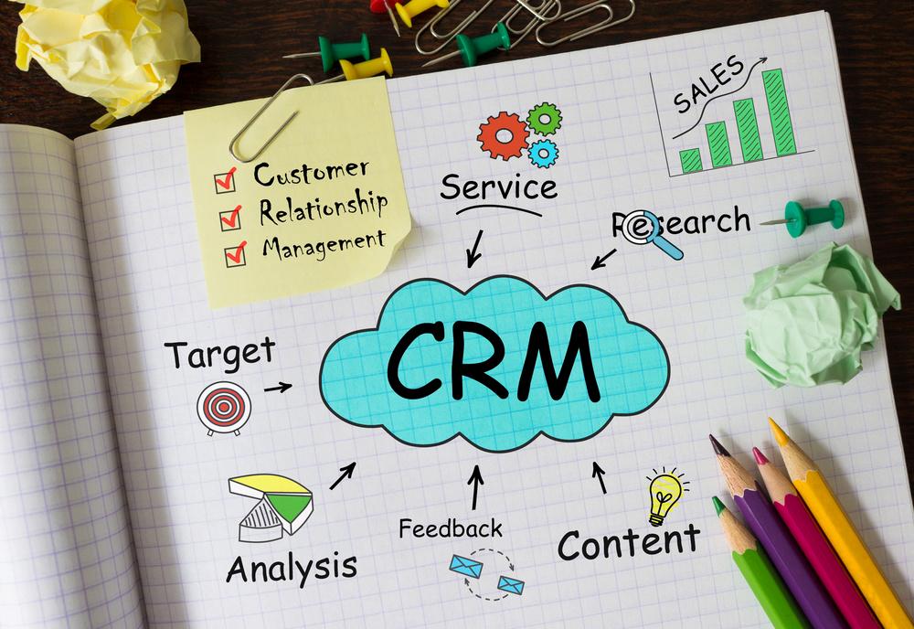 営業活動を効率化する為のCRMの4つの機能とCRM・SFAの違い