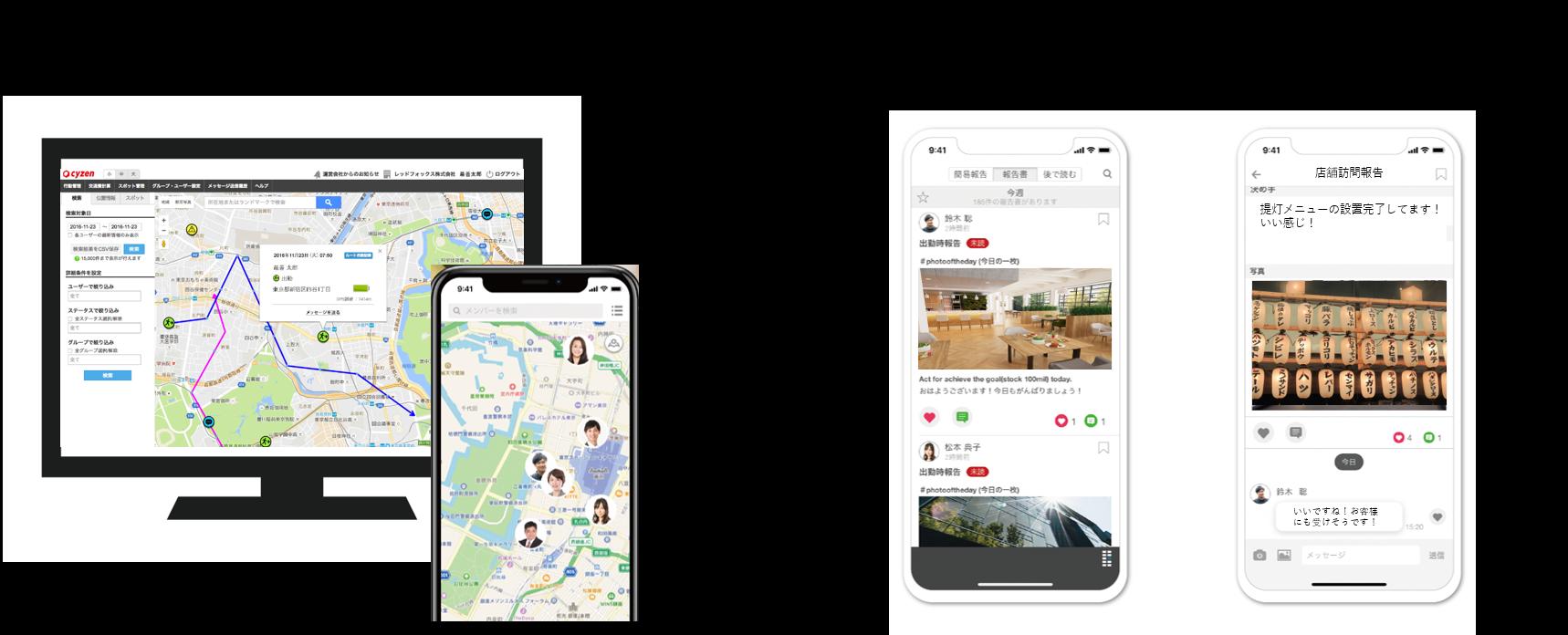 飲食店経営の悩みをアプリで一発解決!写真と位置情報を共有するだけ。