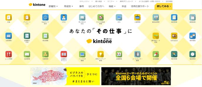 kintone_top